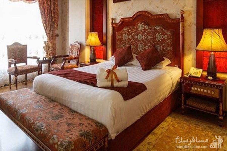 اتاق بقیع هتل قصرالضیافه مشهد