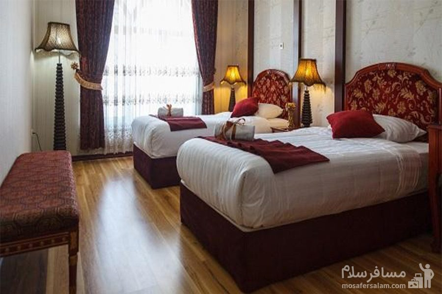 اتاق قدس هتل قصرالضیافه مشهد
