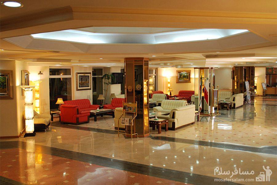 نما کلی لابی هتل قصرالضیافه مشهد