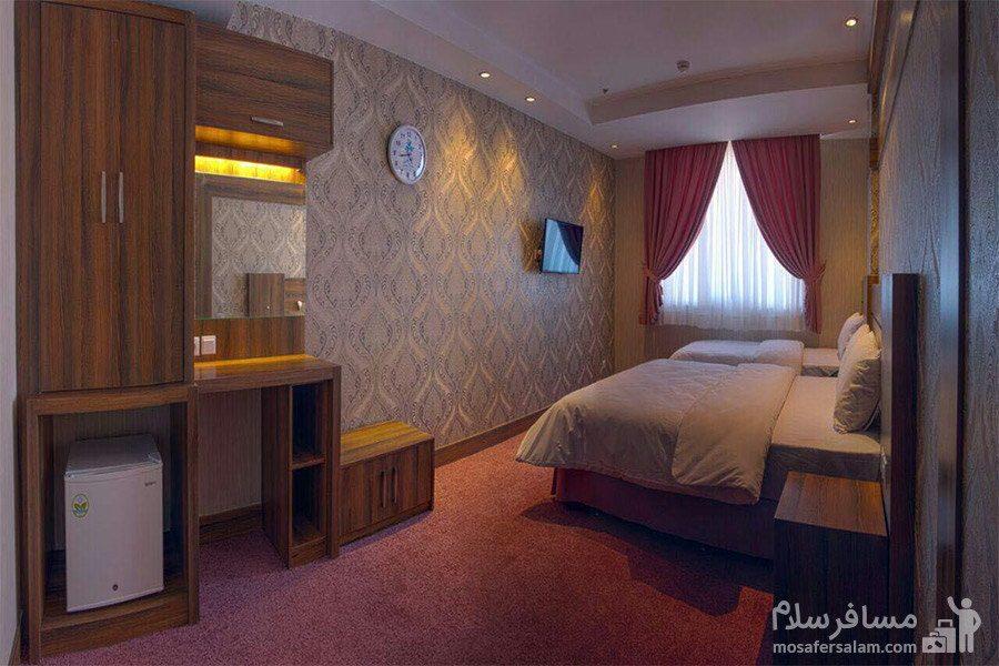 اتاق دوتخته دبل هتل کارن