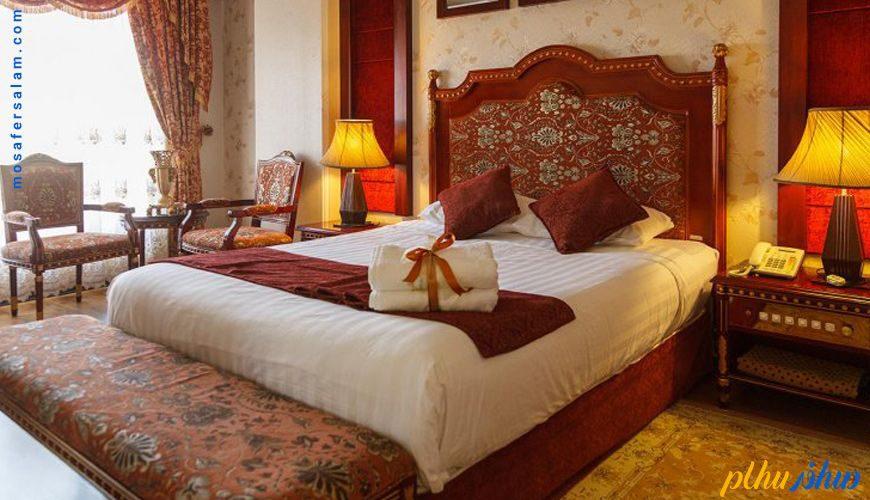 اتاق هتل قصر الضیافه مشهد
