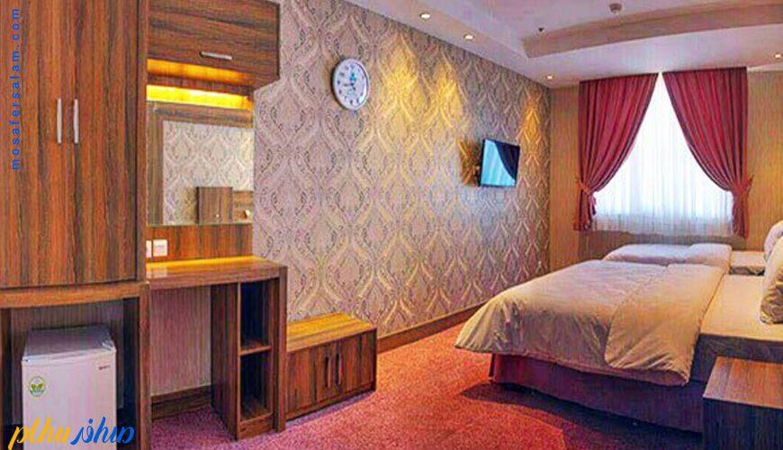 اتاق هتل کارن مشهد