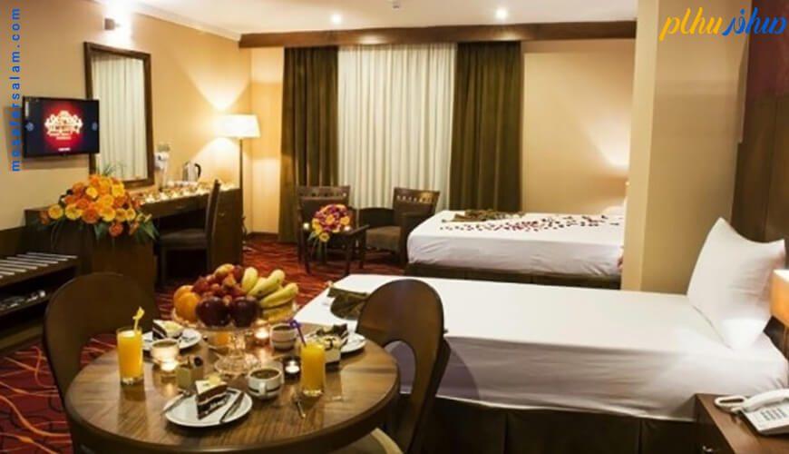 اتاق هتل پارسیس مشهد