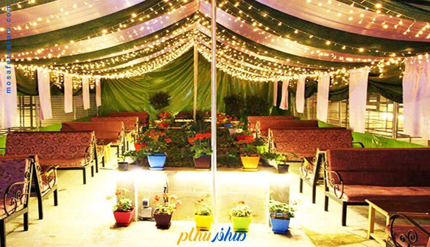 چایخانه هتل پارسیس مشهد