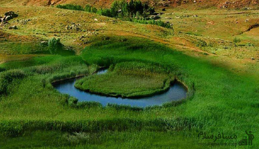 تالاب چملی تکاب, گردشگری مسافر سلام