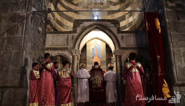 مراسم باداراک در قره کلیسا