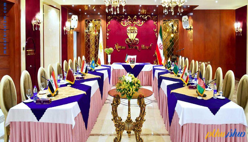 اتاق جلسات هتل الماس نوین مشهد