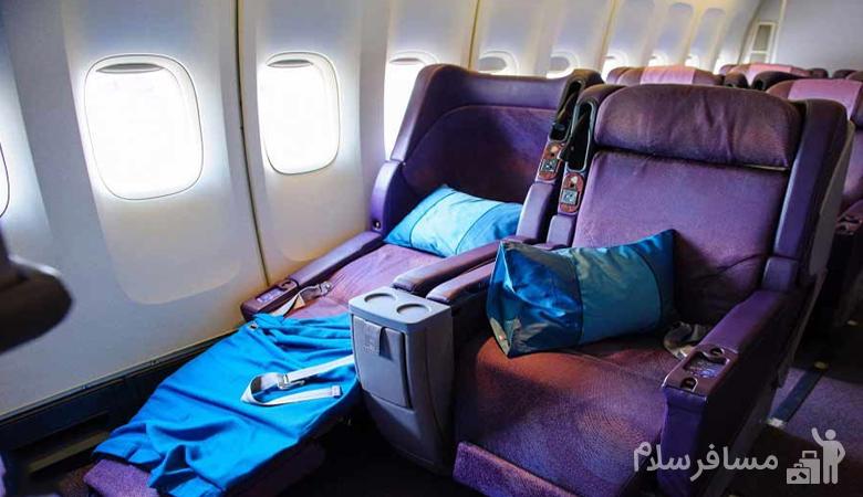 بالشت و پتو هواپیما