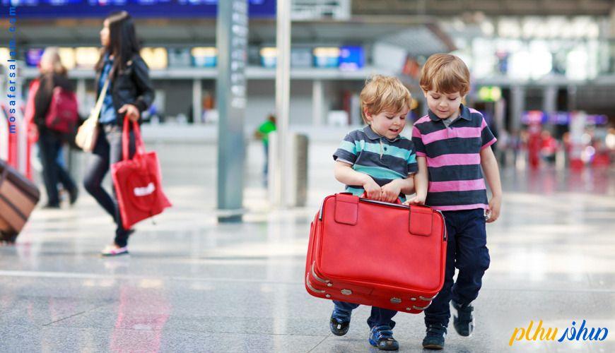 بستن چمدان در سفر
