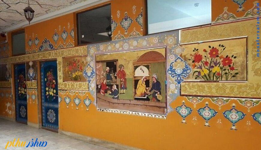 راهرو هتل سنتی ابن سینا اصفهان