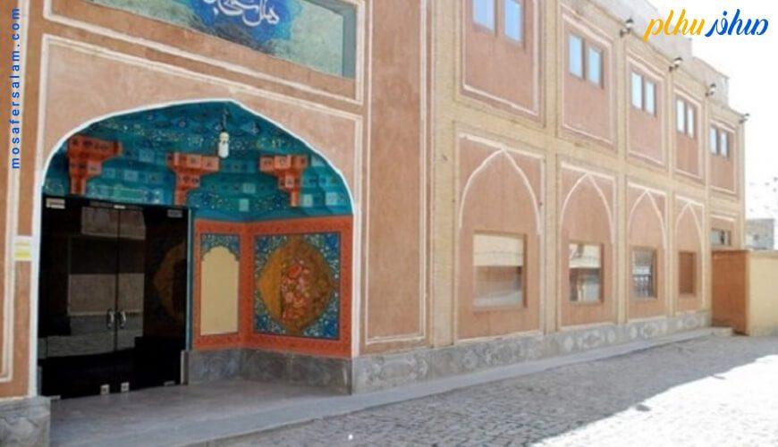 ورودی هتل سنتی ابن سینا اصفهان