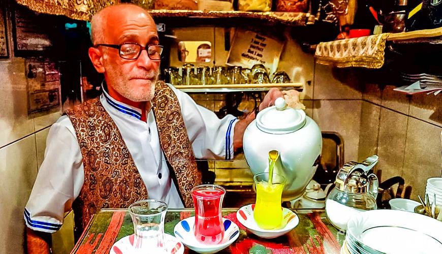 کافه حاج علی درویشی