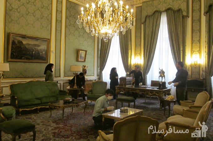 مرمت کاخ سعد آباد