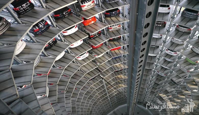 پارکینگ طبقاتی برج آلتون مشهد