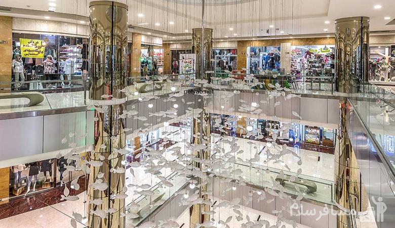 محیط داخلی مرکز خرید آرمان مشهد