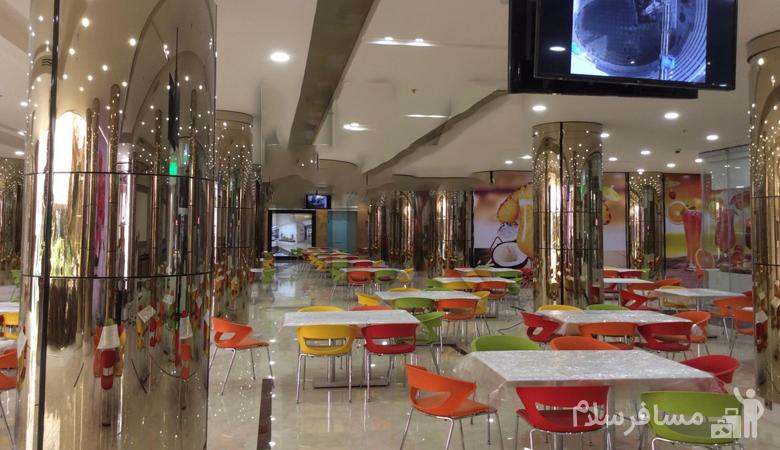 رستوران مرکز خرید آرمان مشهد