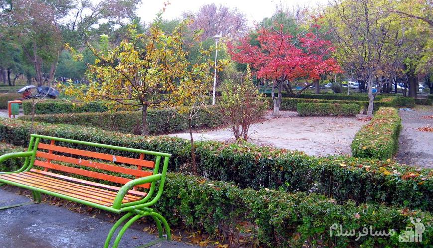 پارک بابا قدرت مشهد