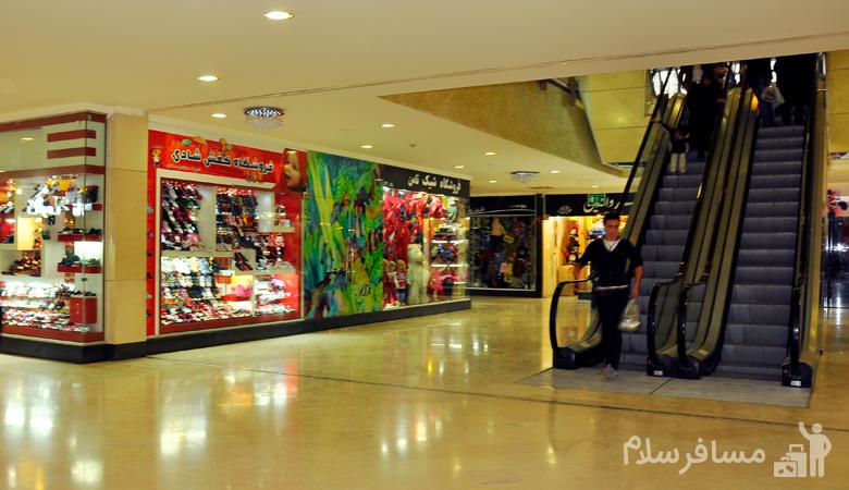 نمای داخلی مجتمع تجاری فردوسی مشهد