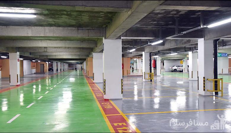 پارکینگ بازار فردوسی مشهد