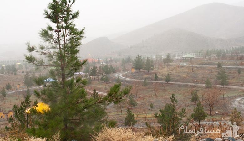 کوهستان پارک خورشید مشهد