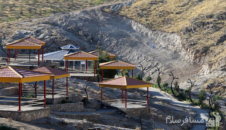 آلاچیق های کوهستان پارک خورشید