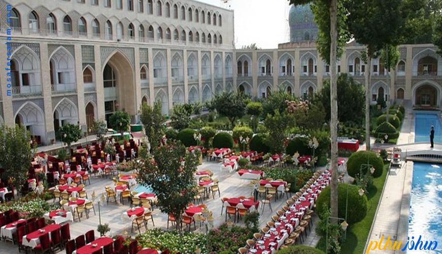 هتل عباسی کهن ترین هتل جهان