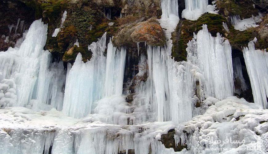 مناظر طبیعی مشهد | آبشار اخلمد
