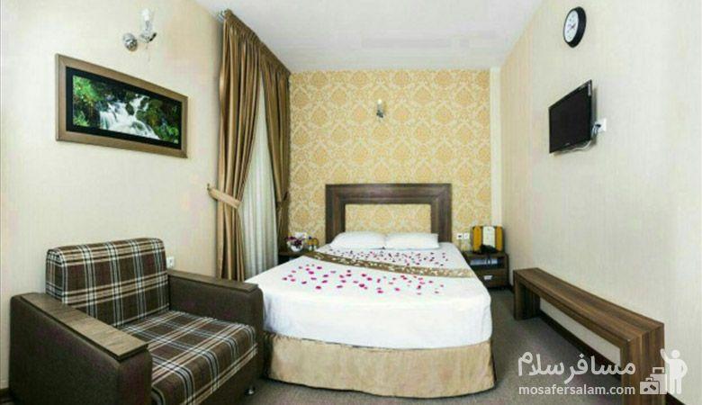 هتل آیران مشهد، هتل های سه ستاره مشهد، رزرواسیون مسافر سلام