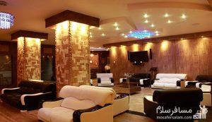 لابی هتل آپادانا مشهد، رزرواسیون مسافر سلام