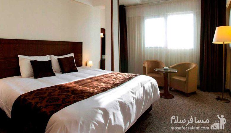 هتل جواهر شرق مشهد، هتل های سه ستاره مشهد، رزرواسیون مسافر سلام
