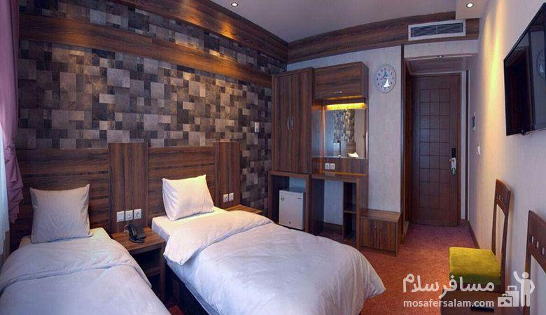 هتل کارن مشهد، هتل های سه ستاره مشهد، رزرواسیون مسافر سلام