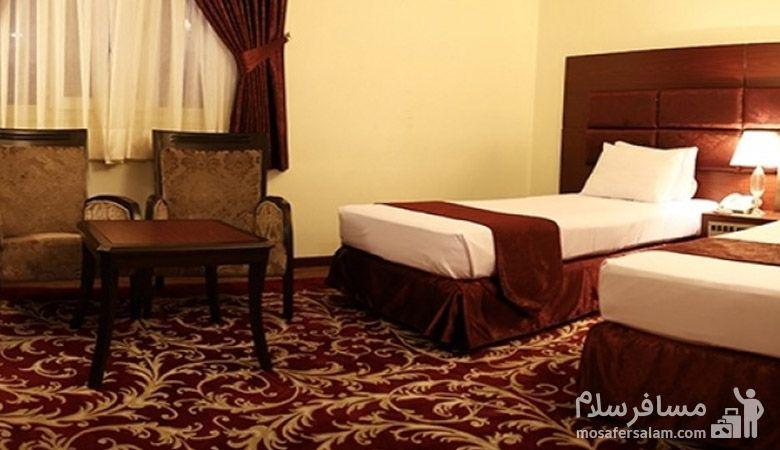 هتل مشهد مشهد، هتل های سه ستاره مشهد، رزرواسیون مسافر سلام