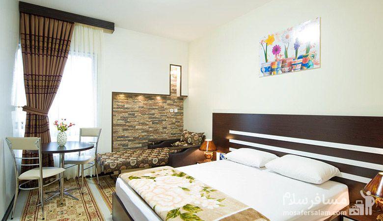 هتل رضویه مشهد، هتل های سه ستاره مشهد، رزرواسیون مسافر سلام