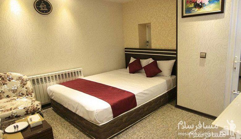 هتل سپنتا مشهد، هتل های سه ستاره مشهد، رزرواسیون مسافر سلام