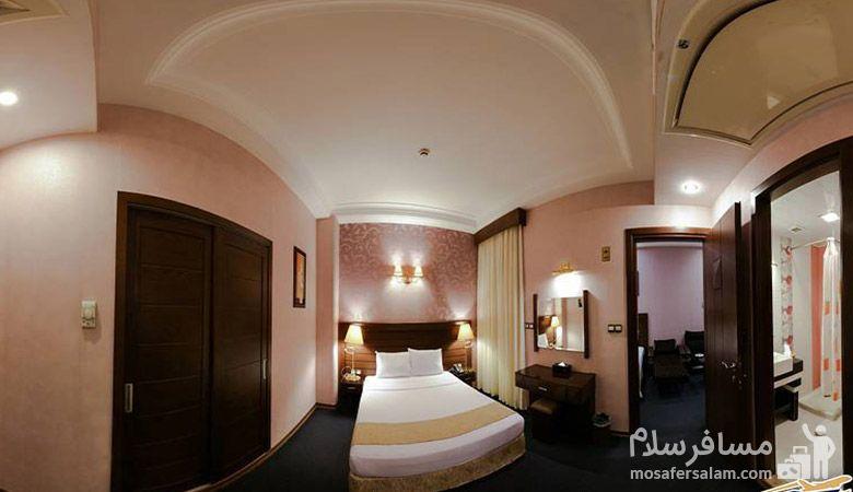 هتل توحید نوین مشهد، هتل های سه ستاره مشهد، رزرواسیون مسافر سلام