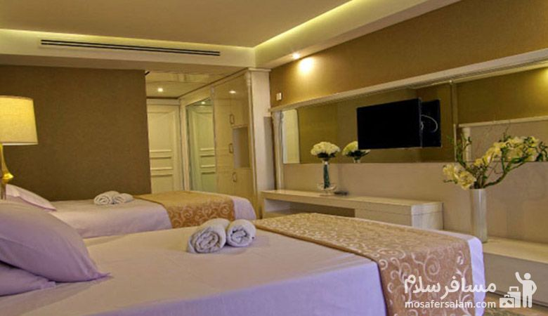 هتل اترک مشهد، رزرواسیون مسافر سلام
