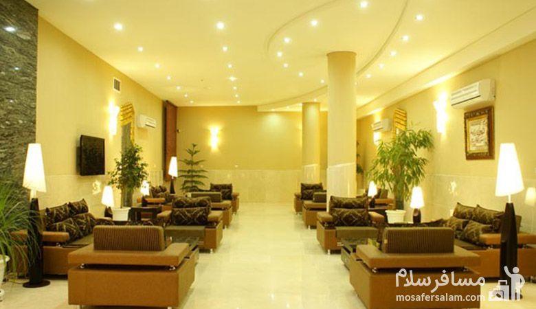 هتل عماد مشهد، رزرواسیون مسافر سلام