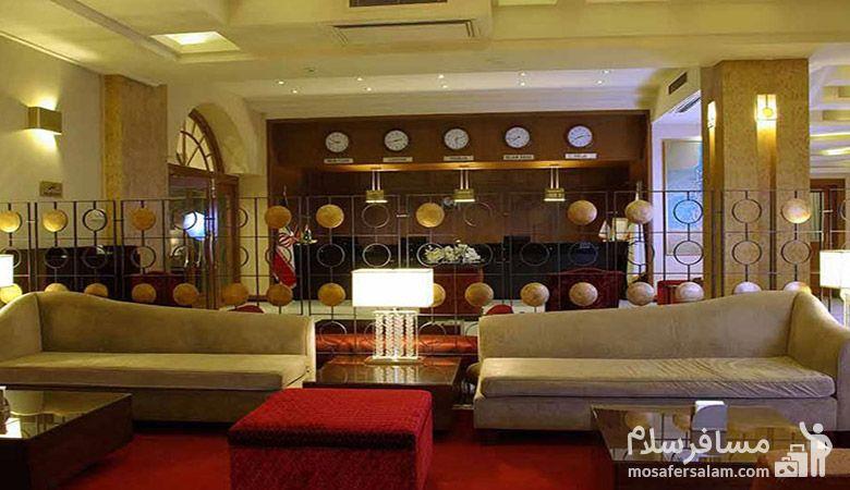 هتل فردوس مشهد، رزرواسیون مسافر سلام