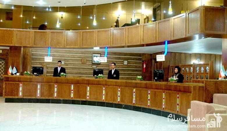 هتل مینو مشهد، رزرواسیون مسافر سلام