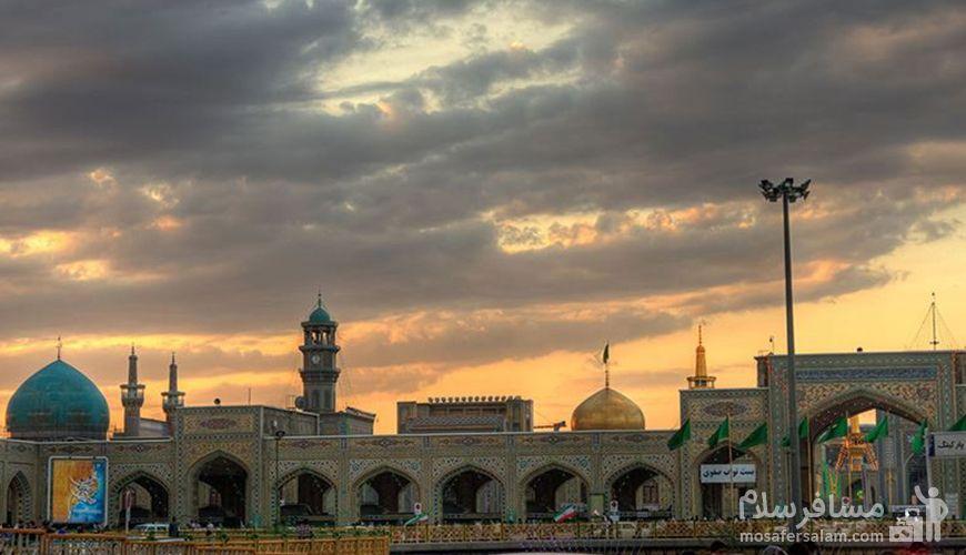 ورودی نواب صفوی, حرم مطهر امام رضا (ع), مشهد