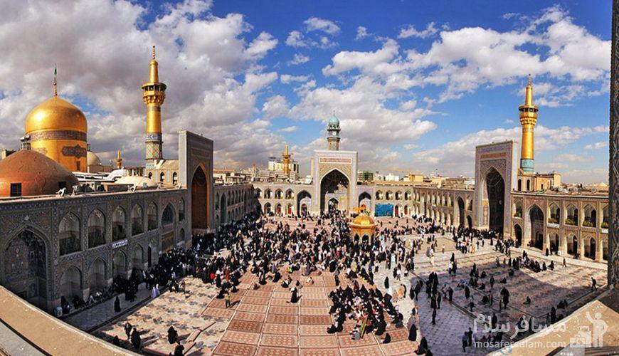 صحن انقلاب حرم مطهر امام رضا (ع), مشهد