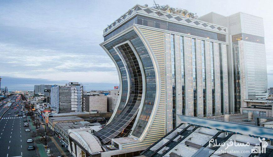 هتل الماس 2 مشهد | هتل های مشهد خیابان دانش