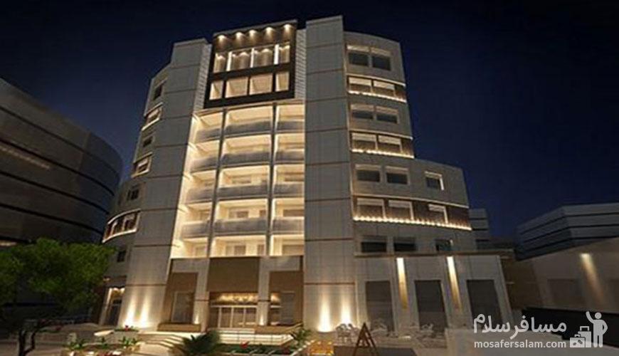 هتل هتل های مشهد خیابان دانش | سیمرغ مشهد