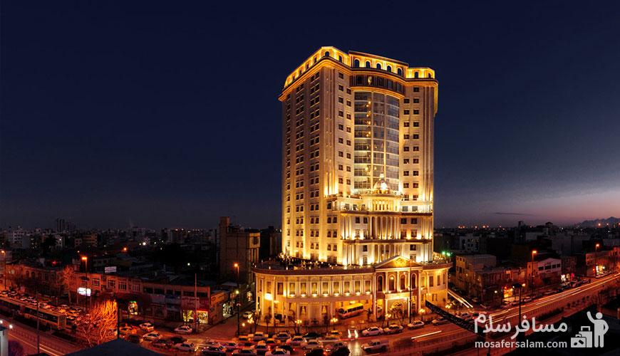 شماره تلفن هتل قصر طلایی مشهد