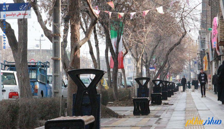 رزرو هتل های مشهد خیابان طبرسی