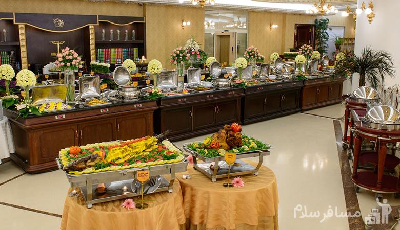رستوران هتل درویشی مشهد