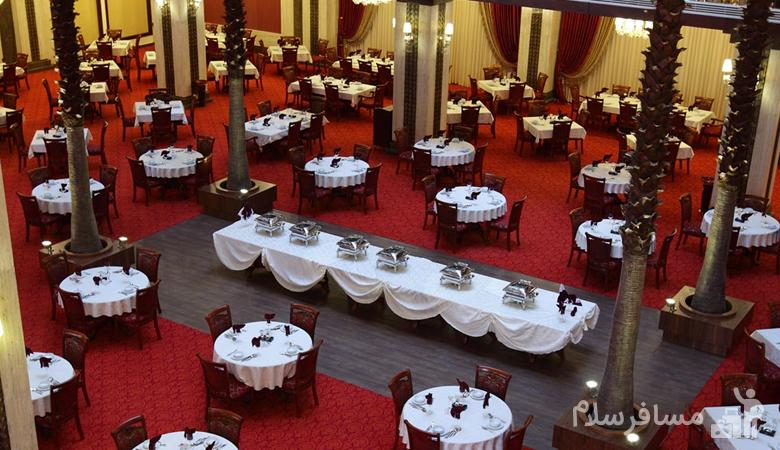 رستوران آتریوم هتل درویشی مشهد