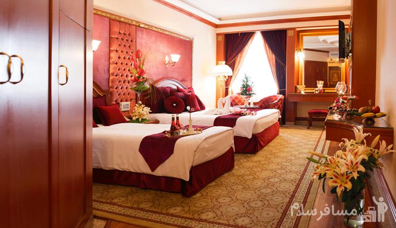 پرنسس سویئت هتل قصر طلایی مشهد