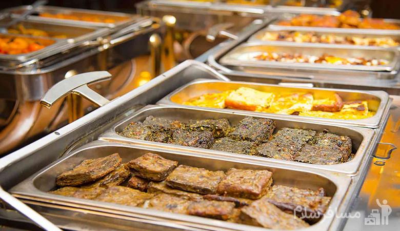 ناهار هتل قصر طلایی