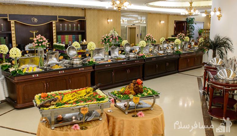 بوفه ناهار هتل درویشی مشهد